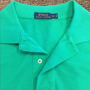 Kelly green Polo by Ralph Lauren polo